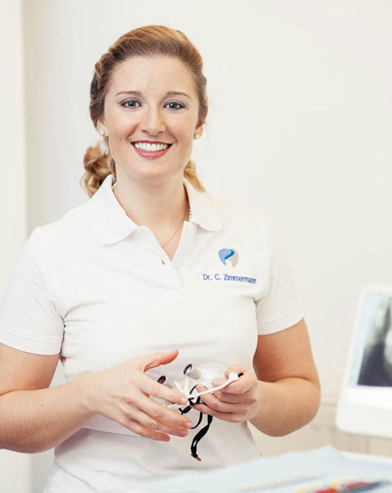 Dr. med. dent. Catarina Victoria Zimmermann Profilbild